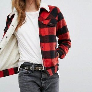 Anthropologie x Levi's Ex-Boyfriend Wool Trucker Jacket S